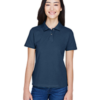 Ladies' 6 oz. Ringspun Cotton Piqué Polo