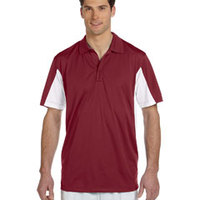 Men's Side Blocked Micro-Piqué Polo