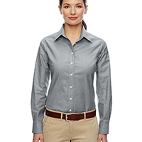 Ladies' Long-Sleeve Oxford