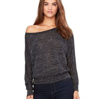 Women's Flowy Off Shoulder Tee