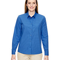 Ladies' Align Wrinkle-Resistant Vertical Striped Shirt