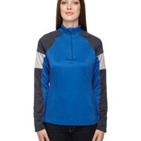 Ladies' Quick Performance Interlock Quarter-Zip