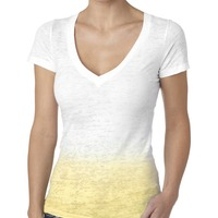 Ladies' Ombre V Neck