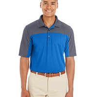 Men's Color Block Performance Polo