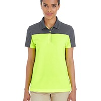 Ladies Color Block Performance Polo