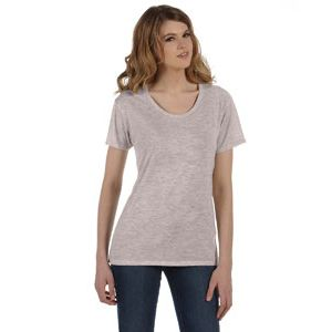 Ladies' Kimber Mélange Burnout T-Shirt Thumbnail