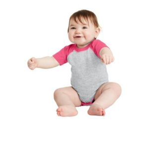 ™ Infant Baseball Fine Jersey Bodysuit Thumbnail