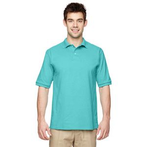 Men's 5.6 oz., 50/50 Jersey Polo with SpotShield Thumbnail