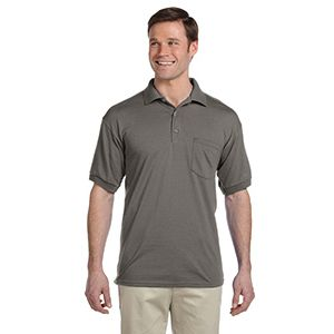 DryBlend Jersey Polo with Pocket Thumbnail