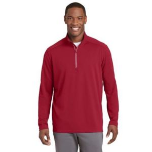 Sport Wick Textured 1/4 Zip Pullover Thumbnail