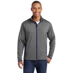 Sport Wick Stretch Contrast Full Zip Jacket Thumbnail