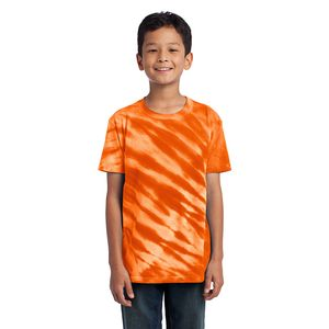 Youth Essential Tiger Stripe Tie Dye Tee Thumbnail