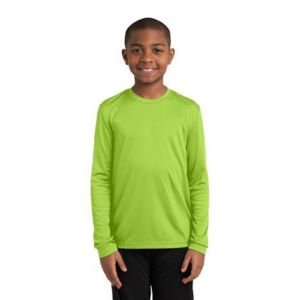 Youth Long Sleeve PosiCharge Competitor Tee Thumbnail