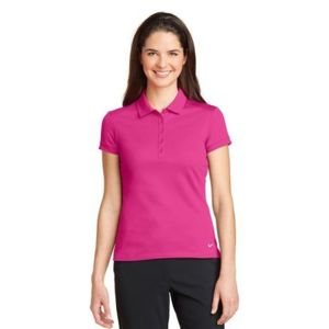Golf Ladies Dri FIT Solid Icon Pique Modern Fit Polo Thumbnail