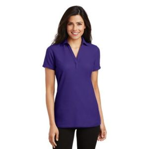 Ladies Silk Touch ™ Y Neck Polo Thumbnail