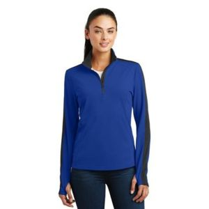 Ladies Sport 1/4 Zip Pullover Thumbnail