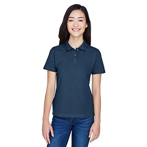 Ladies' 6 oz. Ringspun Cotton Piqué Polo Thumbnail