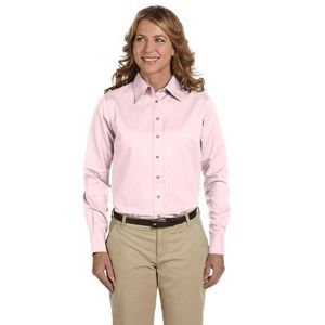 Ladies' Easy Blend™ Long-Sleeve Twill Shirt Thumbnail