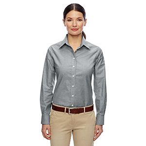 Ladies' Long-Sleeve Oxford Thumbnail
