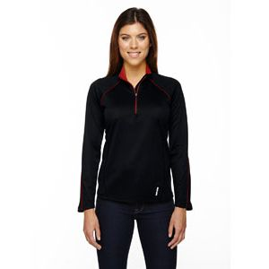 Ladies' Radar Quarter-Zip Performance Top Thumbnail