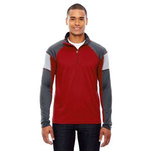 Men's Quick Performance Interlock Quarter-Zip Thumbnail