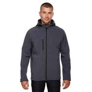Men's Prospect Bonded Soft Shell Hooded Jacket Thumbnail