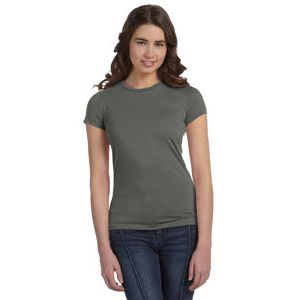 Ladies' Poly-Cotton Short-Sleeve T-Shirt Thumbnail