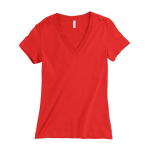 Women's Slim Fit V Neck Thumbnail