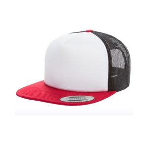 Foam Trucker Cap with White Front Thumbnail