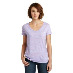 Ladies Relaxed V Neck T Shirt Thumbnail
