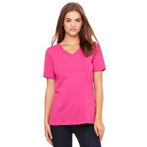 Relaxed Jersey Short-Sleeve V-Neck T-Shirt Thumbnail