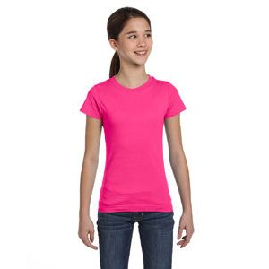 Girls' Fine Jersey T-Shirt Thumbnail