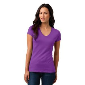 Juniors Soft Wash V Neck Tee Thumbnail