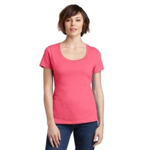 Ladies Perfect Weight Scoop Tee Thumbnail