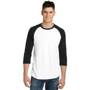 Young Mens 3/4 Sleeve Raglan Thumbnail