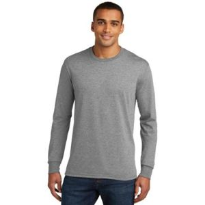 Mens Perfect Tri Long Sleeve Crew Tee Thumbnail
