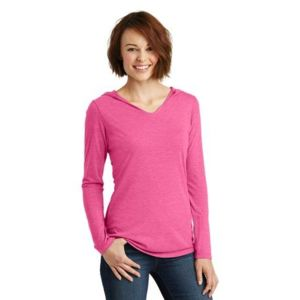 Ladies Perfect Tri Long Sleeve Hoodie Thumbnail
