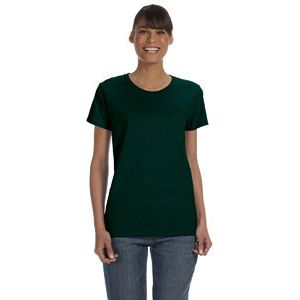 (No Minimum) Ladies' 5.3 oz Classic. T-Shirt Thumbnail