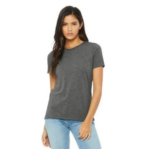 (No Minimum) Women's Relaxed Jersey Short Sleeve Tee Thumbnail
