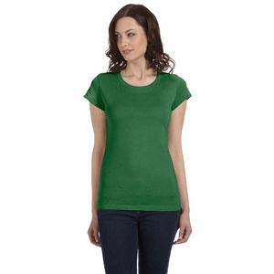 (No Minimum) Ladies' Sheer Jersey T-Shirt Thumbnail