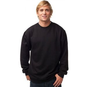 (No Minimum) Premium Mid-weight Crewneck Sweatshirt Thumbnail