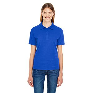 Ladies' 6.5 oz. X-Temp® Piqué Short-Sleeve Polo with Fresh IQ Thumbnail