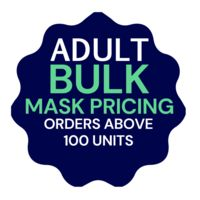 Adult Bulk Orders - USA Made Facemasks - Breathable, Reusable, Cotton Thumbnail