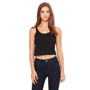 Ladies' Poly-Cotton Crop Tank Thumbnail